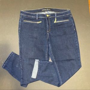 Michael Kors skinny dark blue jean. NWOT.